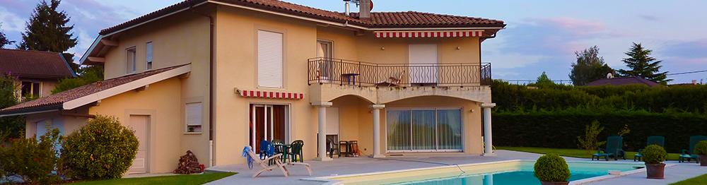 Messery Superbe Villa Avec Vue Sur Le Leman A Vendre 200m2